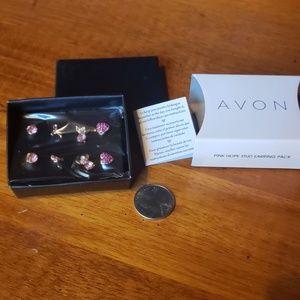 Avon Pink Hope Earring Pack